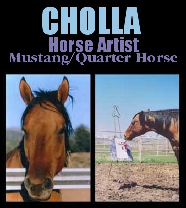 Cholla the Horse artist