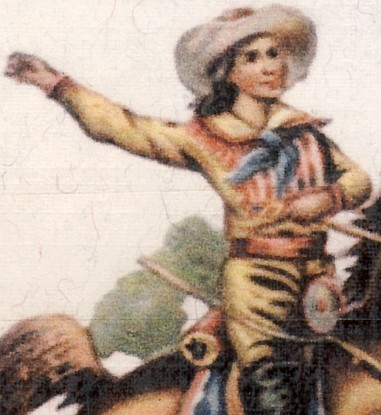 Cowboy or Cowgirl (Detail)