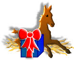 foal with gift image