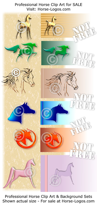 horse clip art