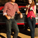 Betty and Barney style jeans