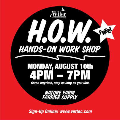 Attend Hands-On Workshops with Vettec Reps