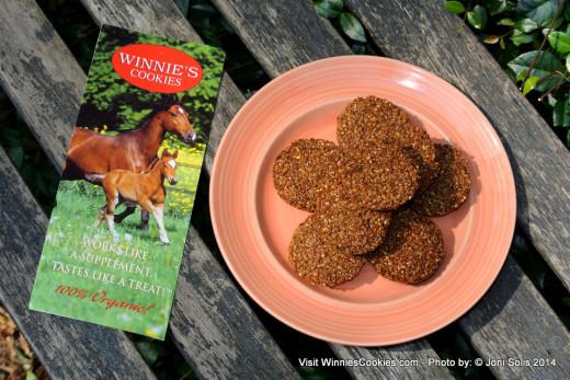 Winnie's Cookies with Brochure