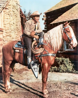 Roy Rogers on his horse Trigger