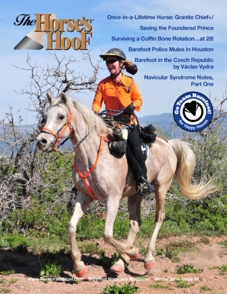Cover of The Horse's Hoof Magazine
