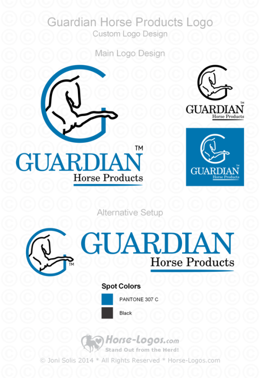 Guardian Horse Products Logo Set