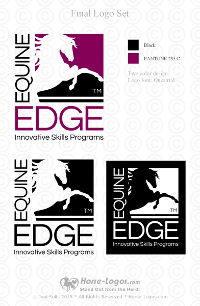 New logo for Equine Edge