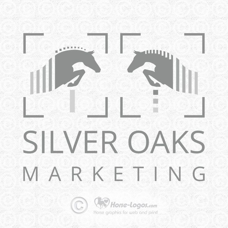 New Horse Logo for Silver Oaks Marketing