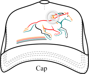 Logo on Cap
